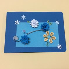 quilling wish card