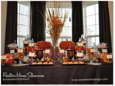 candy buffet | realtor-autumn-fall-candy-buffet-dessert-table-bar-sweets-washington ...