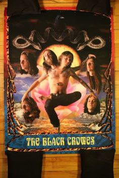 The Black Crowes - Rare Psychedelic Poster FOR SALE