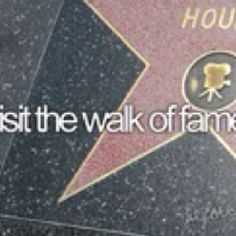 Walk of fame... Check.