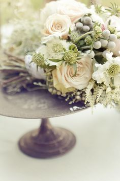 vintage english garden wedding inspiration