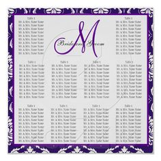 reception seating chart maker