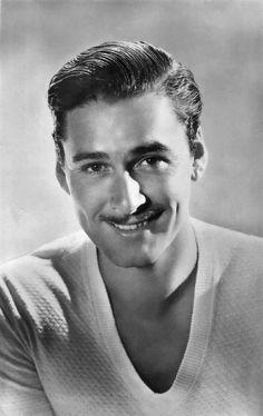 Errol Flynn (Robin Hood) didn't know he was this handsome