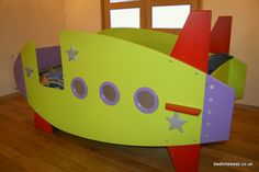 Love This Rocket Bed What A Perfect Way To Journey Into Dreamland Each Night Theme Novelty Created By Bedtime Bedz