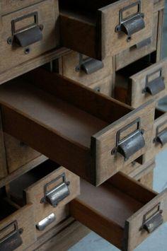 Close-up drawers