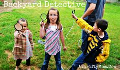 be a backyard detect