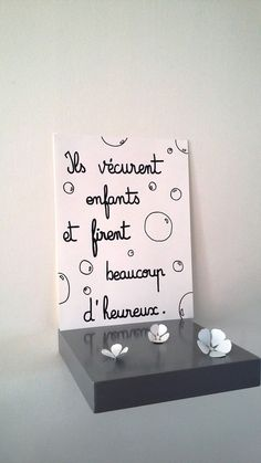 "affiche citation "" ils vécurent enfants ..."" : Affiches, illustrations, posters… Miracle Morning, Strong Words, Poster S, My Mood, Positive Attitude, Carpe Diem, Love Life, Favorite Quotes, Quotations"