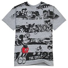 ''Leader of the Band'' Mickey Mouse Tee for Boys