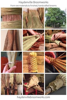 Learn about our broom making process: http://haydenvillebroomworks.com/broom-making-process