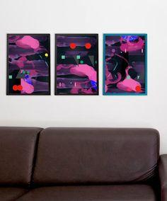 Kit de 3 Posters Lucas Rampazzo são no formato A3 100% exclusivos na ShopKola.