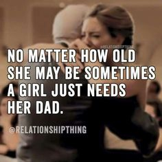 Truth. Nothing can replace a father.