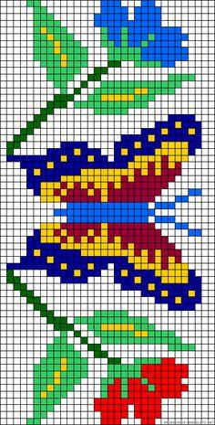 1 million+ Stunning Free Images to Use Anywhere Loom Bracelet Patterns, Bead Loom Patterns, Cross Stitch Patterns, Cross Stitching, Cross Stitch Embroidery, Needle Tatting Tutorial, Kawaii Cross Stitch, Butterfly Cross Stitch, Pixel Pattern