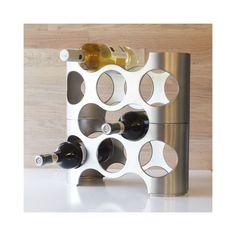 Umbra - Le casier à bouteille Napa, LA solution : vos bouteilles sont organisées grâce à ce casier moderne !
