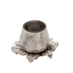 Mushroom Sterling Silver Saucer - Shop Fratelli Lisi online at Artemest