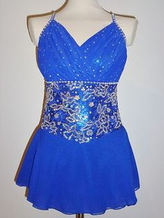 Beautiful Figure Ice Skating Dress Custom Made to Fit | eBay
