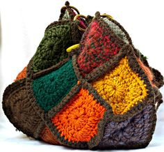 crochet wool bags - Cerca con Google