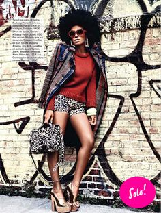 Solange is doin some major things in fashion honey! log on