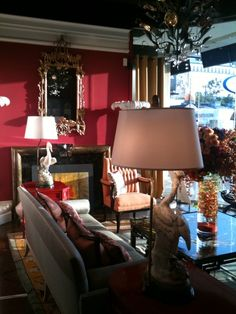 Our Auntie Mame installation at Baker Furniture for LCDQ