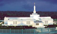 Veracruz Mexico Temple of The Church of Jesus Christ of Latter-day Saints. #LDS #Mormon