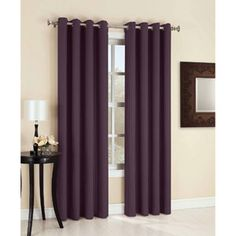Sun Zero Bedford Blackout Curtain Panel