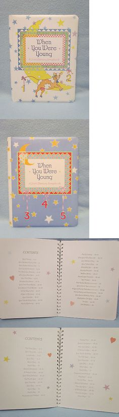 Keepsakes and Baby Announcements 117388: When You Were Young~2-In-1 Memory Scrapbook Baby Record Book Picture Photo Album -> BUY IT NOW ONLY: $35 on eBay!