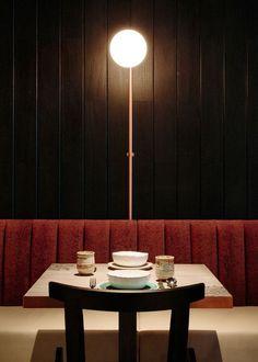 Rhoda de Joyce Wang Studio | Intérieurs de bar