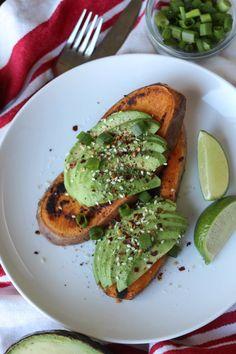 Paleo Avocado Toast #whole30 #paleo #breakfast #recipes http://greatist.com/eat/whole30-breakfast-recipes