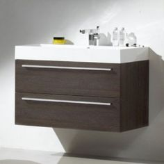 Ultra Faith Basin & Cabinet Oak RF006