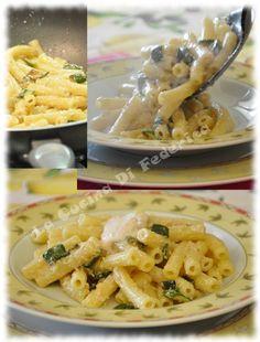 La cucina di Federica: Sedanini con zucchine e crema di mortadella