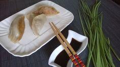 Ravioli cinesi alla piastra - Chinese dumplings - Jiaozi