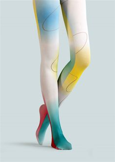 a1919e2cdba15 BONAS Gradient Pantyhose Wavy Line Print Tights Winter Colorful Leggins  Women