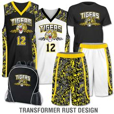 b265003b3bc Team Pack Elite Double Double includes Home and Away Custom Sublimated  Basketball Game Uniforms that you design on our uniform builder