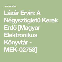 Lázár Ervin: A Négyszögletű Kerek Erdő [Magyar Elektronikus Könyvtár - MEK-02753] Math Equations
