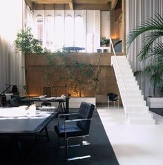 A cement factory in Barcelona converted into a house. Amazing!