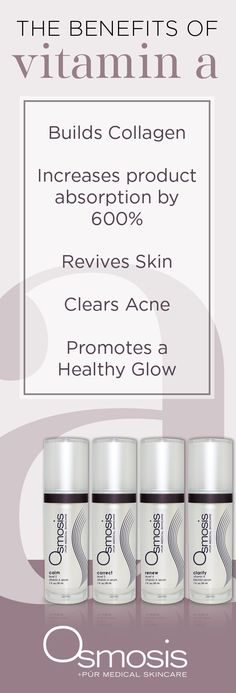 Empower your skin with Osmosis Vitamin A Serums! These unique serums will revers… Empower your skin with Osmosis Vitamin A Serums! These unique serums will reverse aging and environmental damage, combat acne scars, and keep your skin in tip-top shape! Scar Removal Cream, Acne Scar Removal, Serena Van Der Woodsen, Vitamin A Serum, Acne Serum, Face Cream For Wrinkles, Reverse Aging, Natural Acne Remedies, Acne Scars