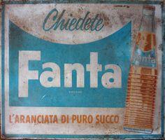 Vintage Fanta sign