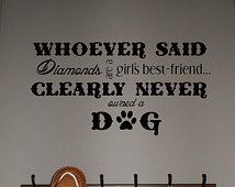 Dog Wall Decor wall decals quotes about dogs cat wipe your paws grooming salon