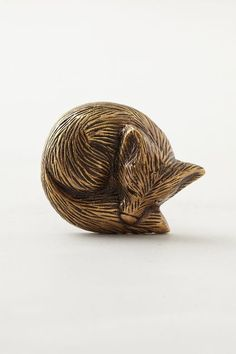 Forest Critter Knob - anthropologie.com I love this!