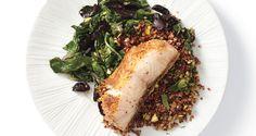 Red Quinoa with Pistachios - Bon Appétit