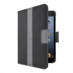Belkin Striped Cover with Stand for iPad mini Black $49.99 at zenwer.com