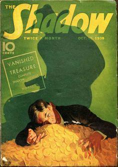 The Shadow Magazine #Pulp #Art #Hero #Cover