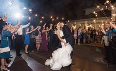 Sparkler exits are romantic and a perfect ending to your night! Check out this one from a Cedar Hall wedding! Click the image to learn more about this wedding venue. Photo credit: Snap Happy Photography
