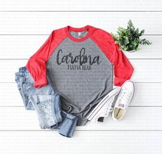 5a5caa322 Next Level 6051 Vintage Red Gray Body Unisex Baseball Basic Raglan Mockup | Shirt  Mockup | TShirt Mockup | Feminine Mockup