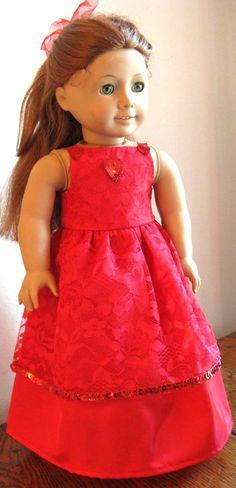 American Girl Doll Dress on SALE by Sparkkl on Etsy, $19.00