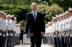 Joe Biden Looking At Stuff