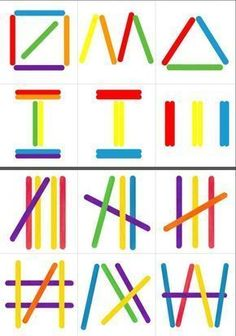 Polo sticks More – Today Pin The Montessori Geometric SticksPopsicle Sticks Shapes – Building Shapes with…Popsicle Sticks Shapes – Formen bauen mit…Hands-On Chinese Learning: Counting with Craft Sticks Montessori Activities, Motor Activities, Infant Activities, Preschool Activities, Dinosaur Activities, Montessori Materials, Kids Education, Special Education, History Education