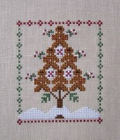 Gingerbread Tree- I think this is Little House Needleworks