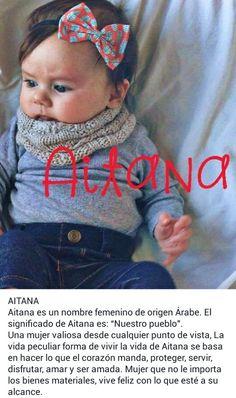 Nombres para bebé, niñas, significado de: Aitana