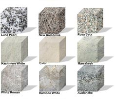 gray granite with white cabinets 2013 | White and Gray Granite | Granite Countertop Warehouse
