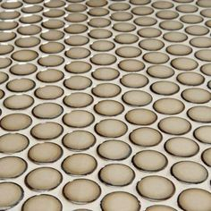 Merola Tile Penny Round Caffe 12 in. x 12-1/4 in. x 5 mm Porcelain Mosaic Floor and Wall Tile (10.2 sq.ft./case)-FKOMPR73 at The Home Depot